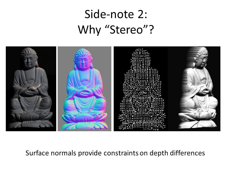 Side-note 2: Why Stereo
