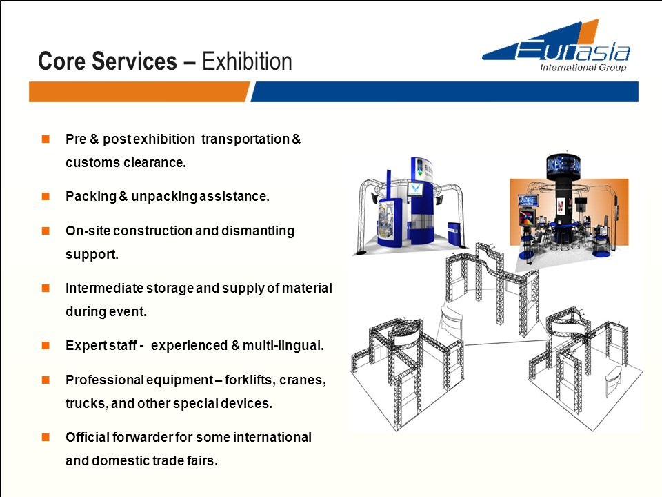 Core Services – Exhibition