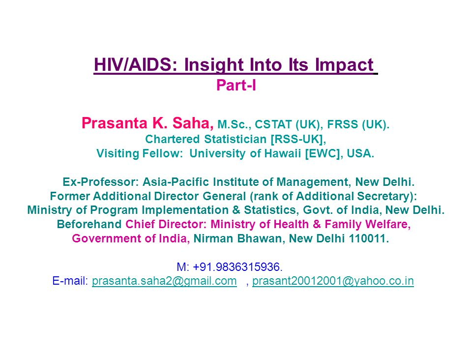HIV/AIDS: Insight Into Its Impact