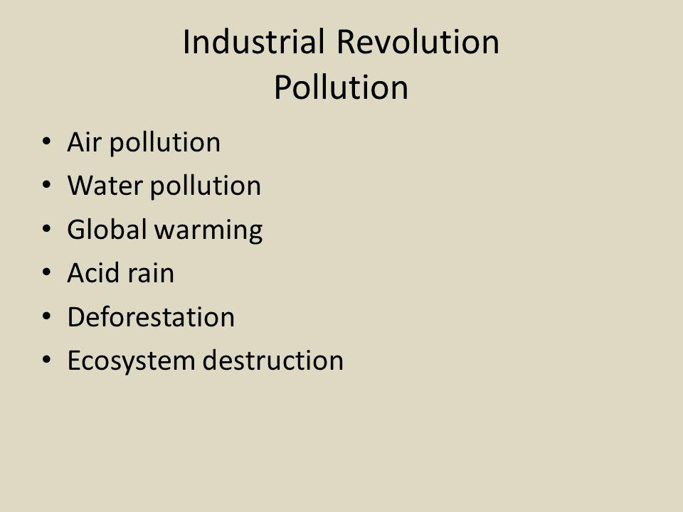 Industrial Revolution Pollution