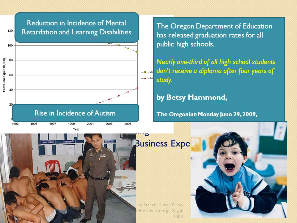 Reduction in Incidence of Mental Retardation and Learning Disabilities