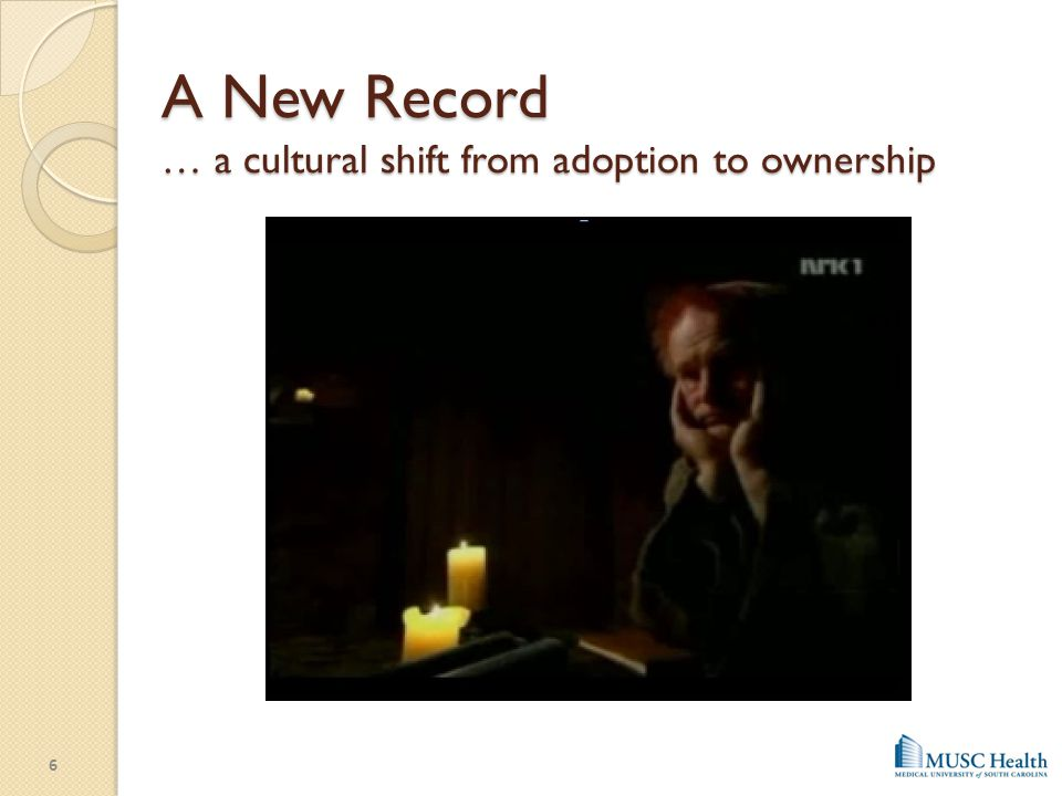 A New Record … a cultural shift from adoption to ownership
