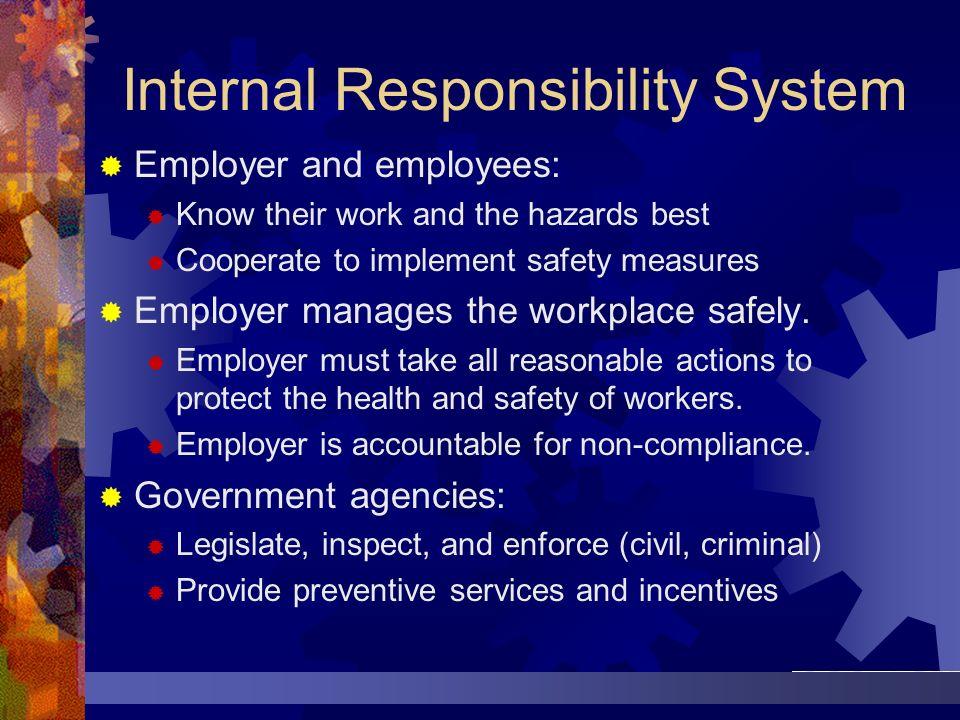 Internal Responsibility System