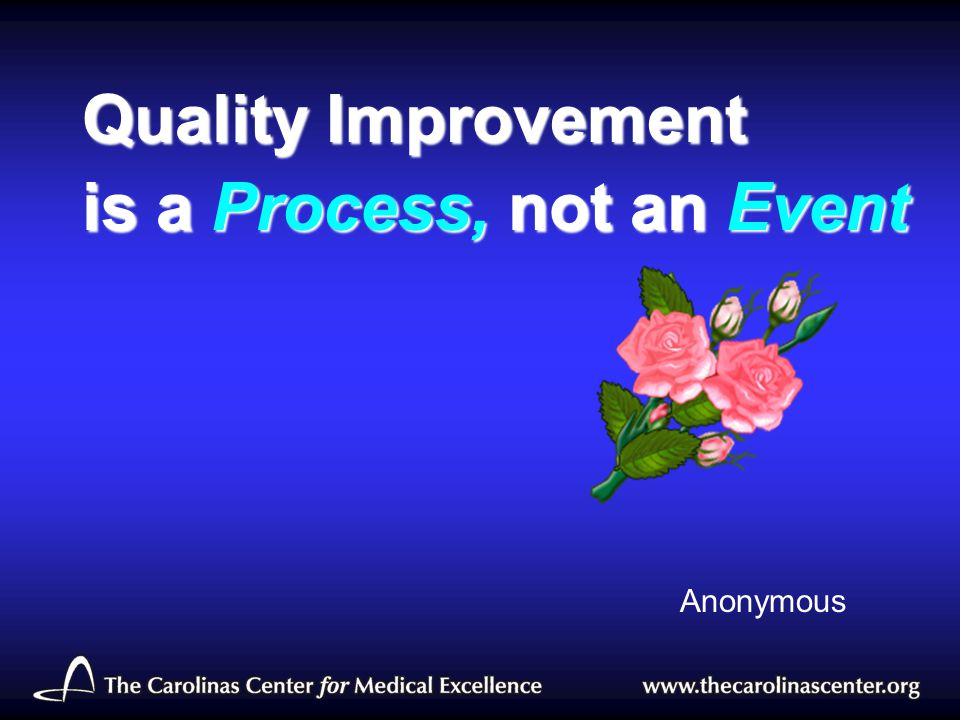 is a Process, not an Event