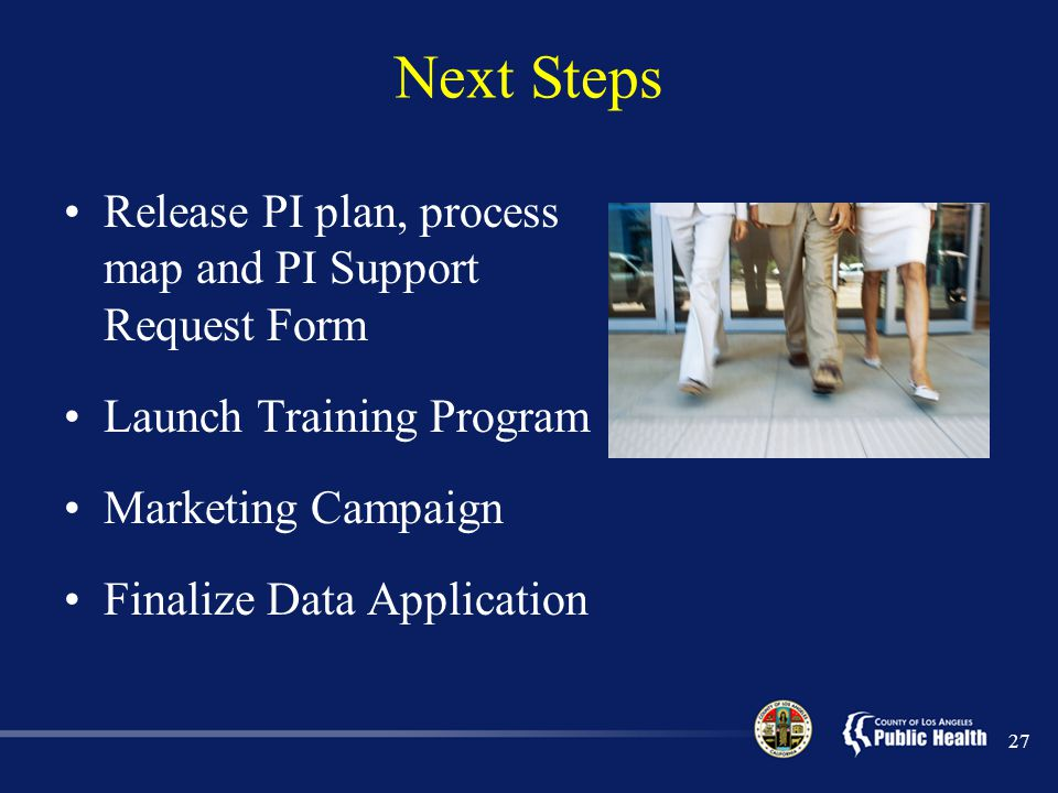 Next Steps Release PI plan, process map and PI Support Request Form