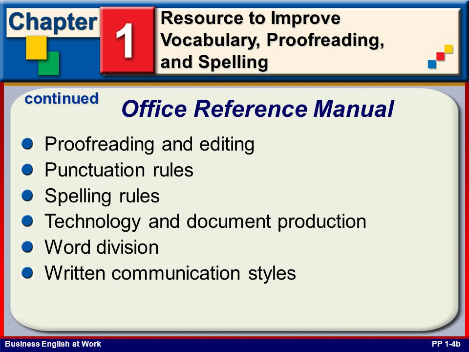 Office Reference Manual