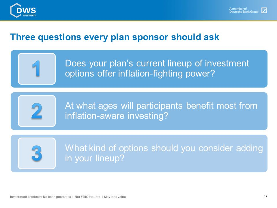 Three questions every plan sponsor should ask