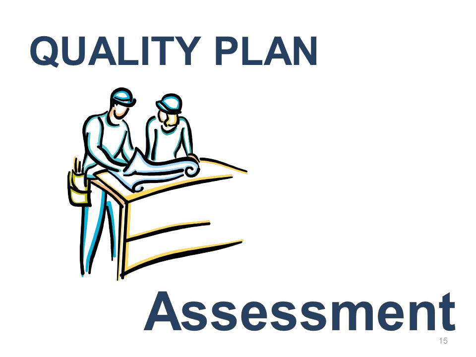 Quality Plan Assessment