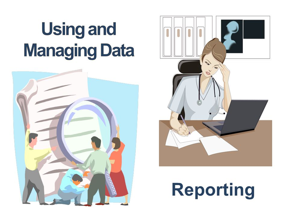 Using and Managing Data