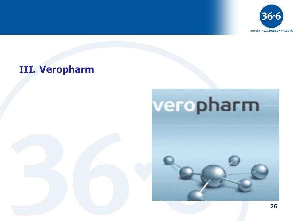 III. Veropharm
