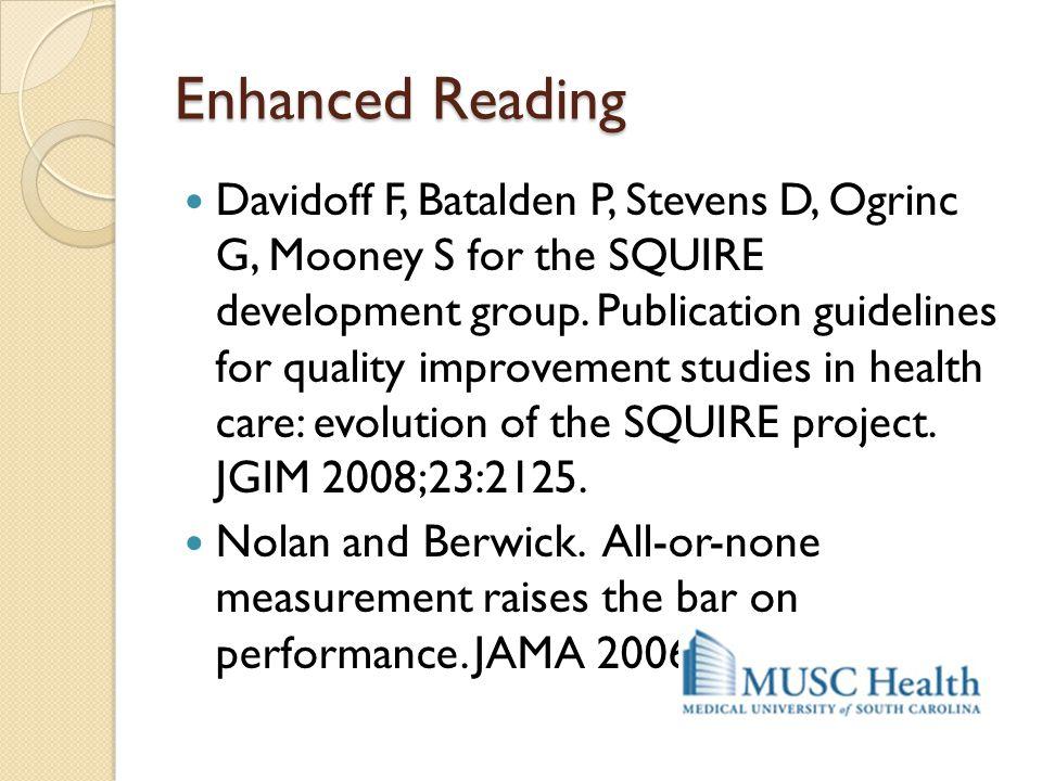 Enhanced Reading