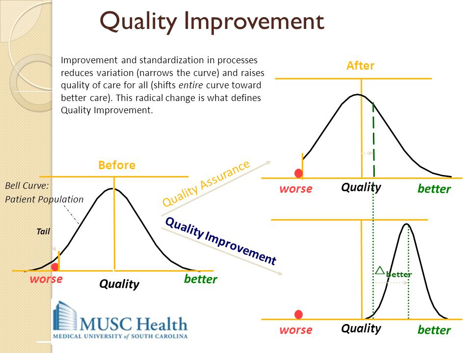 Quality Improvement After Quality Quality Quality After Before