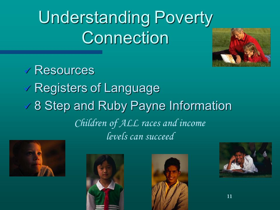 Understanding Poverty Connection
