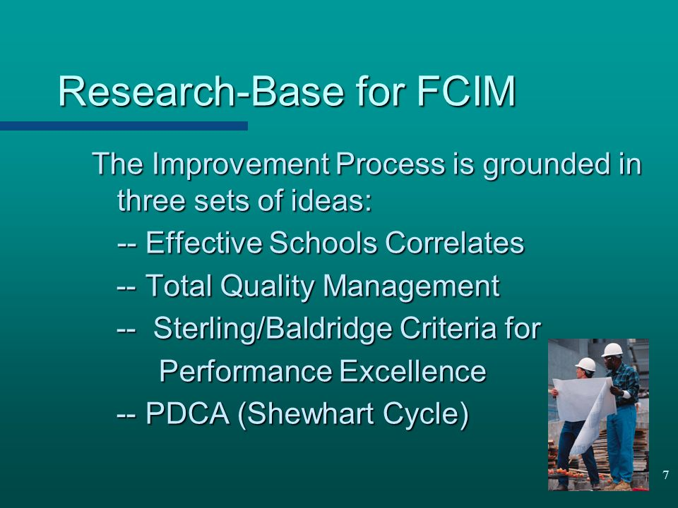 Research-Base for FCIM