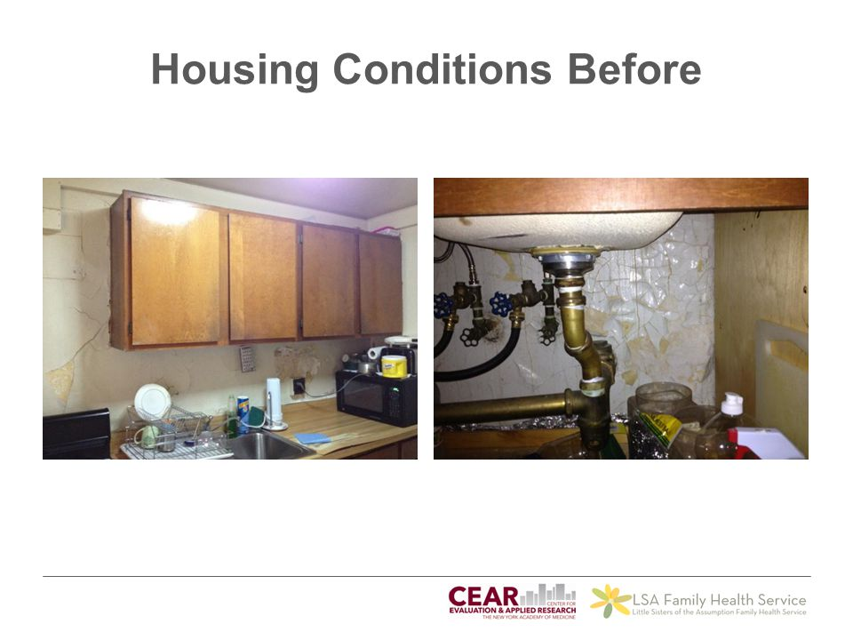 Housing Conditions Before