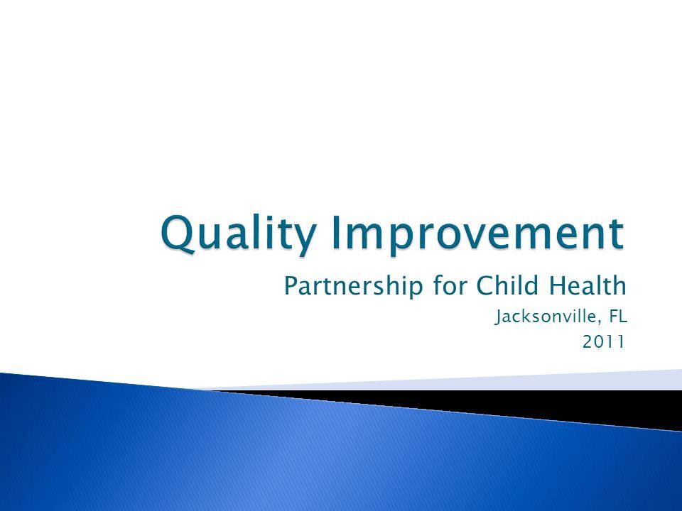 Partnership for Child Health Jacksonville, FL 2011