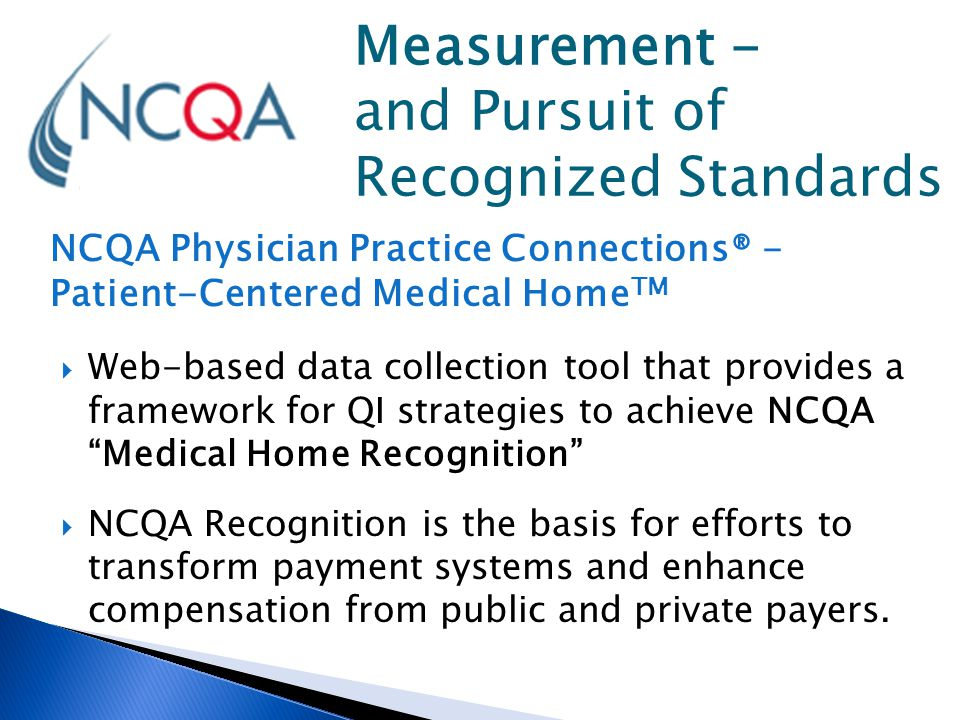 Measurement - and Pursuit of Recognized Standards