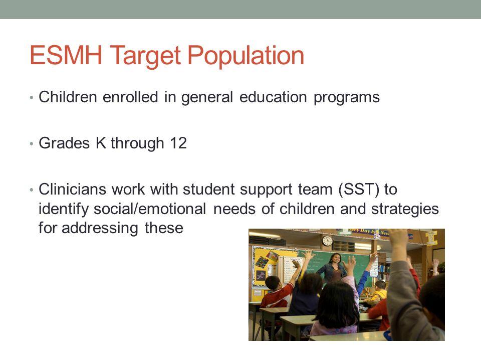 ESMH Target Population