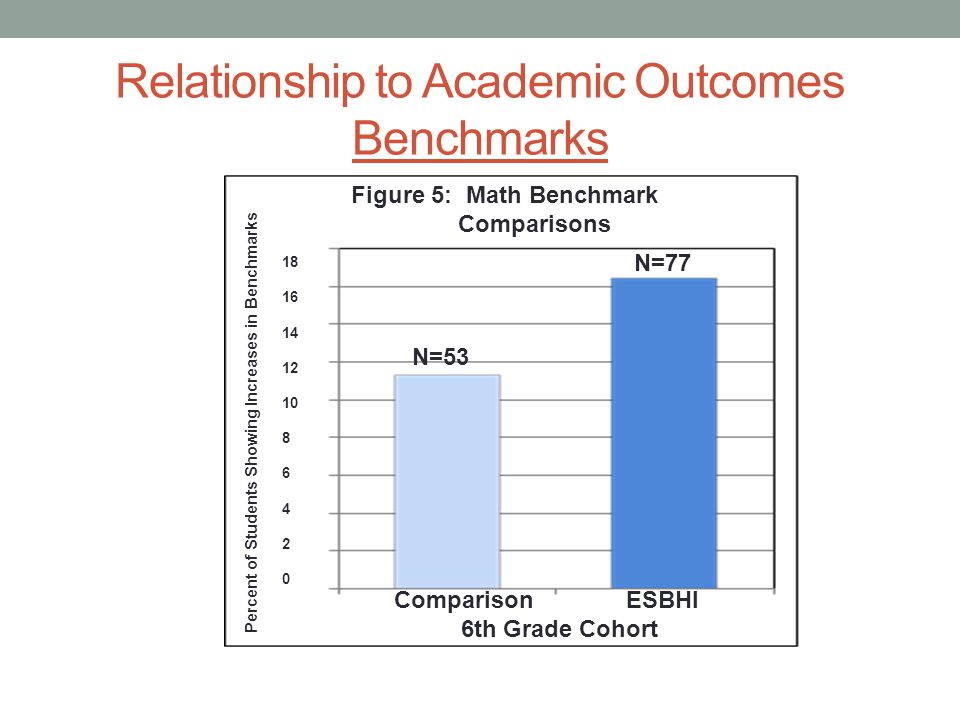 Relationship to Academic Outcomes Benchmarks