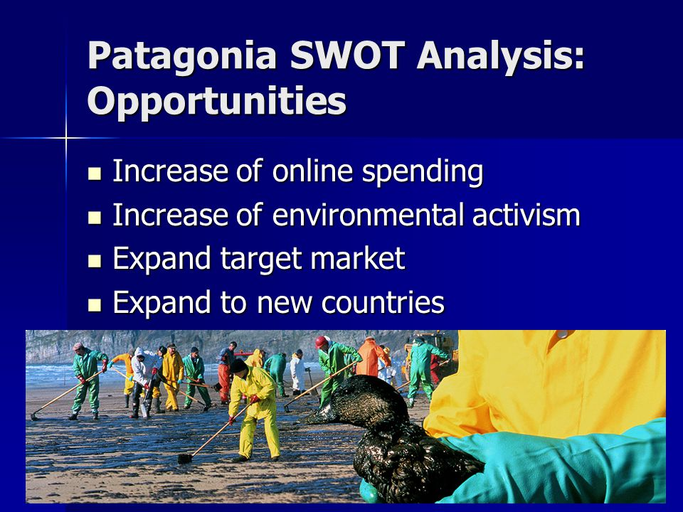 Patagonia SWOT Analysis: Opportunities