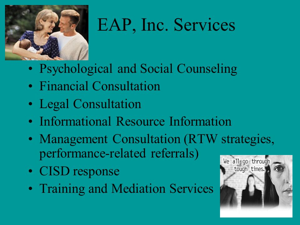 EAP, Inc. Services Psychological and Social Counseling
