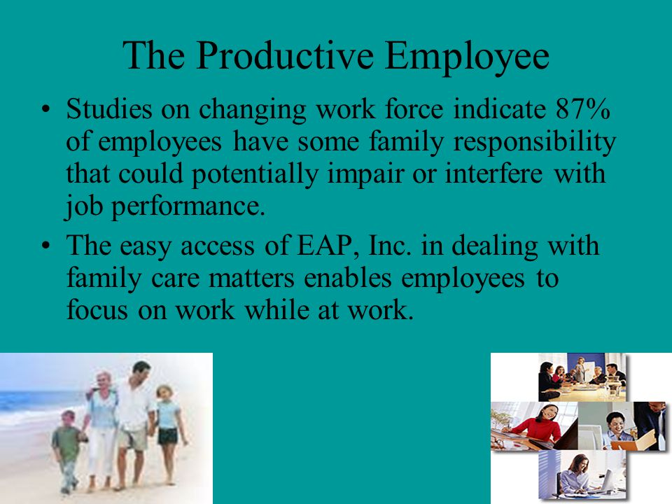 The Productive Employee