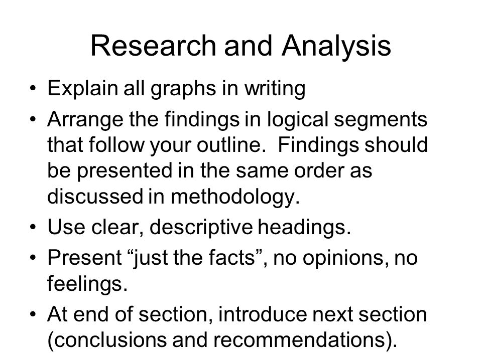 Research and Analysis Explain all graphs in writing