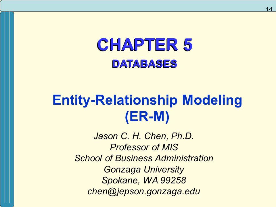 Entity-Relationship Modeling (ER-M)