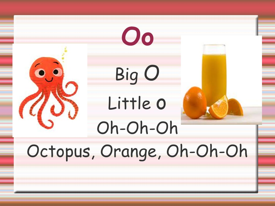 Octopus, Orange, Oh-Oh-Oh