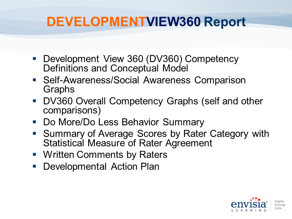 DEVELOPMENTVIEW360 Report