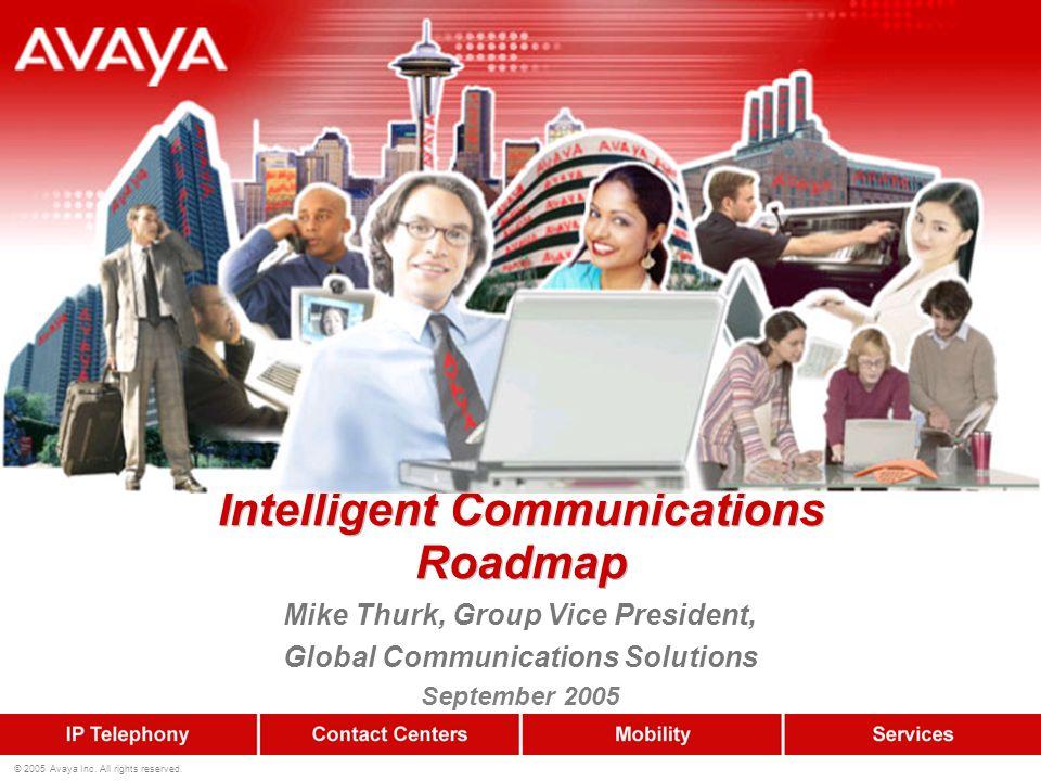 Intelligent Communications Roadmap