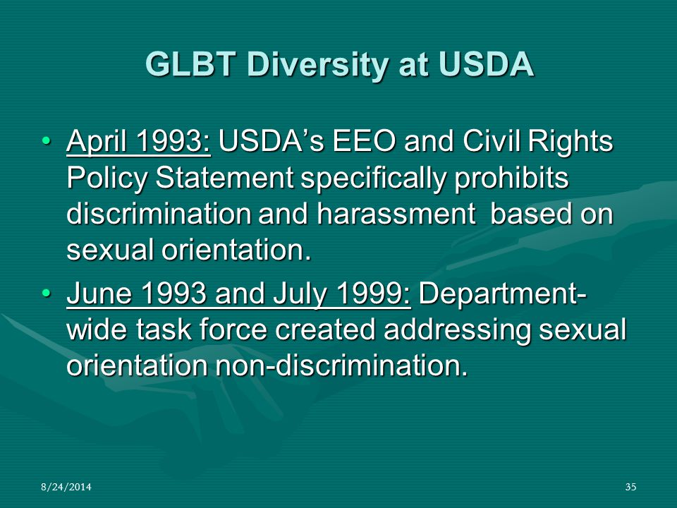 GLBT Diversity at USDA