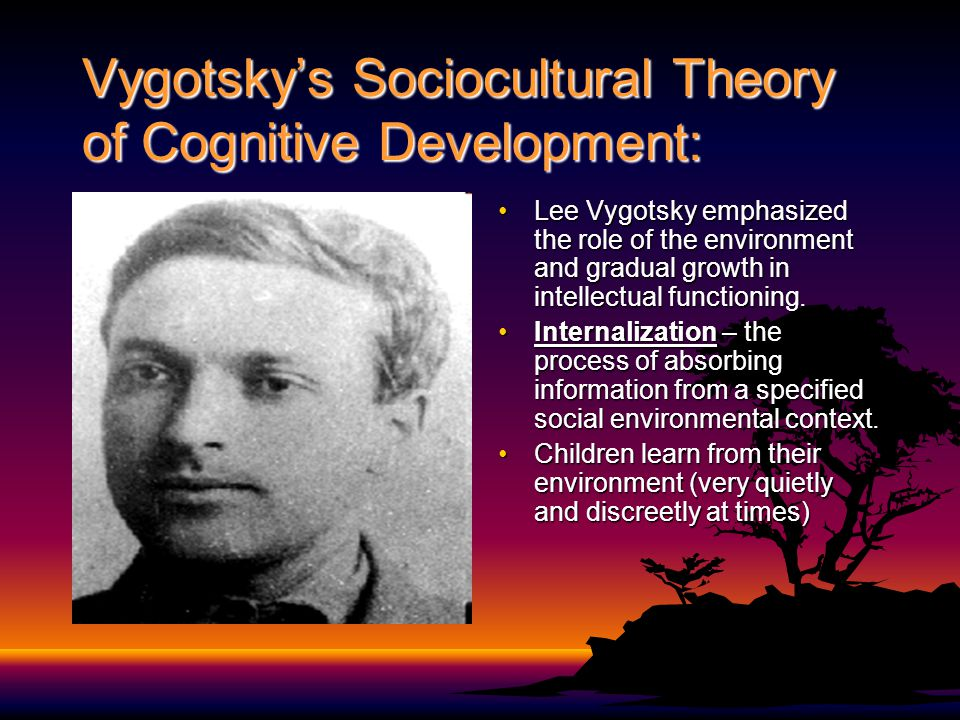 Vygotsky's Sociocultural Theory of Cognitive Development: