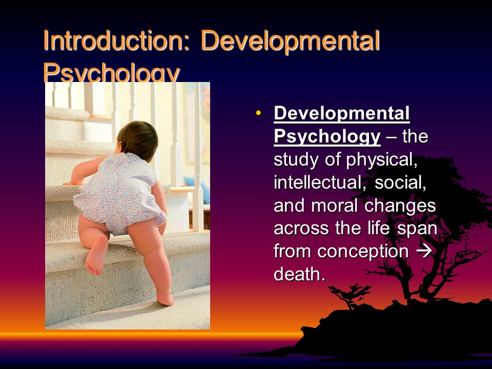 developmental psychology and life General overviews life-span development became prominent when several leaders of the study of child development realized that people keep changing after adolescence.