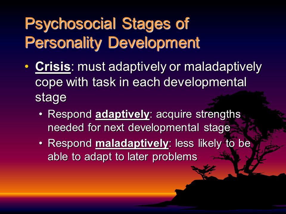 Psychosocial Stages of Personality Development