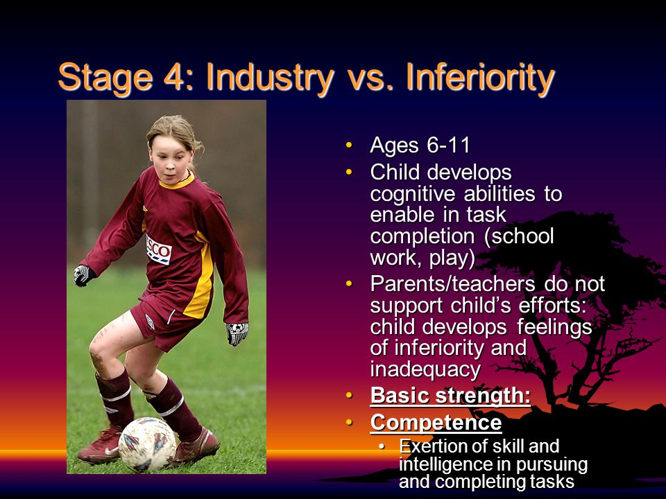 Stage 4: Industry vs. Inferiority
