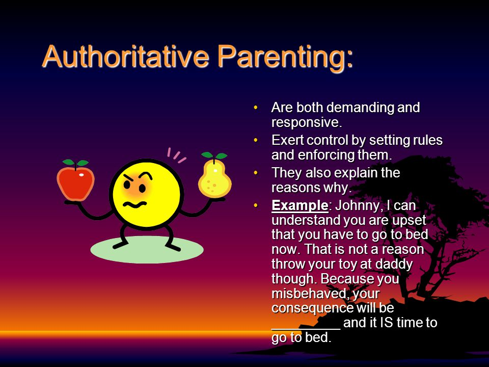 Authoritative Parenting:
