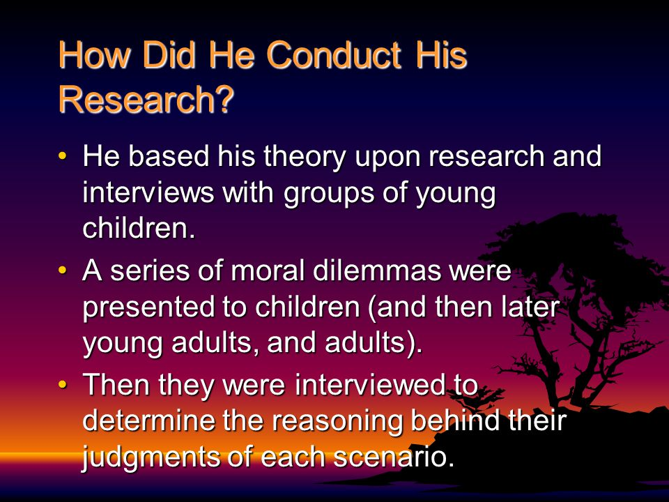 How Did He Conduct His Research