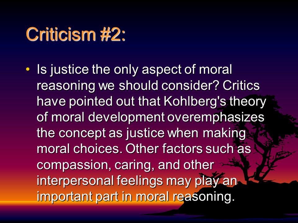 Criticism #2: