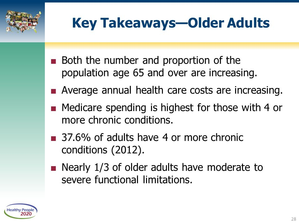 Key Takeaways—Older Adults