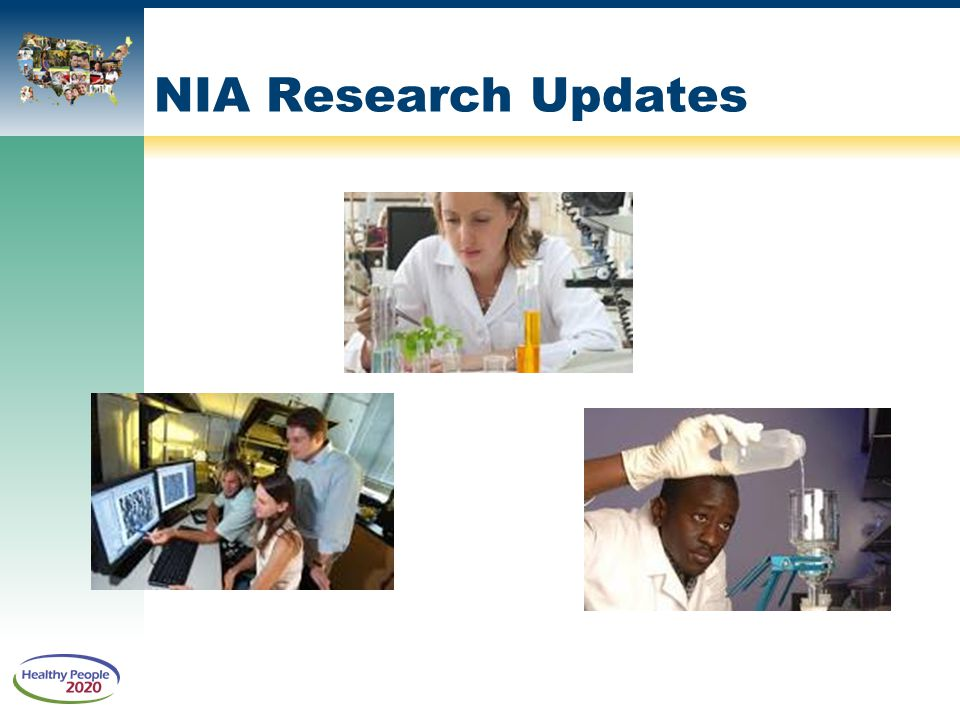 NIA Research Updates