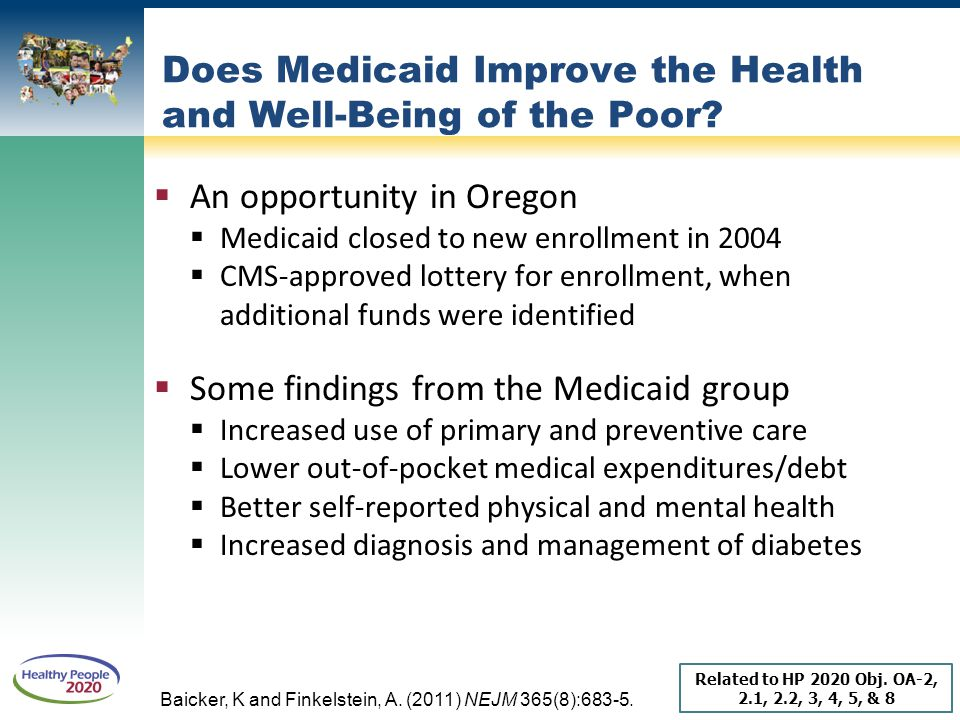 Does Medicaid Improve the Health and Well-Being of the Poor
