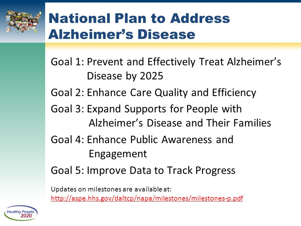 National Plan to Address Alzheimer's Disease