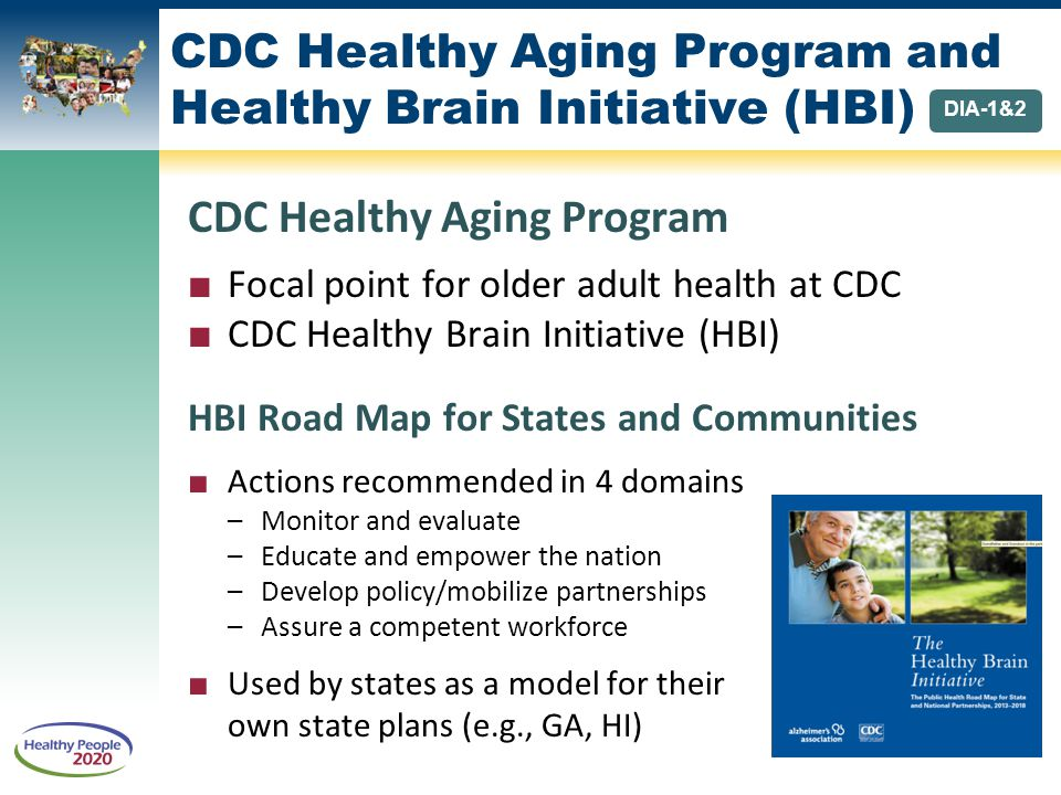 CDC Healthy Aging Program and Healthy Brain Initiative (HBI)