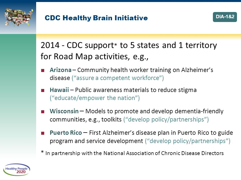 CDC Healthy Brain Initiative