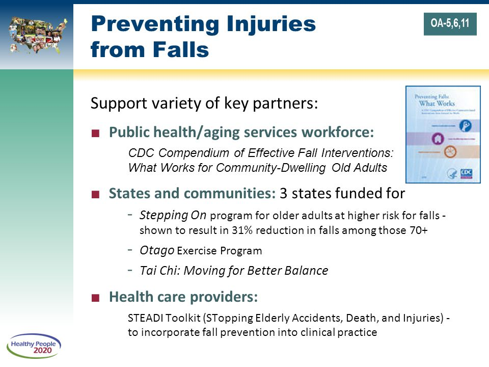 Preventing Injuries from Falls