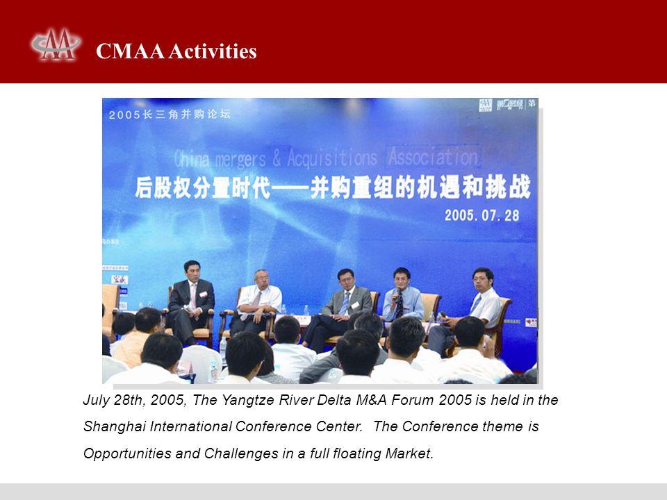 CMAA Activities