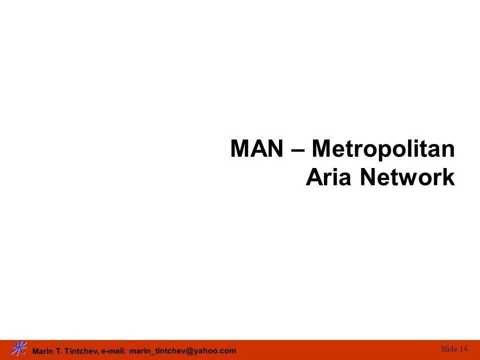 MAN – Metropolitan Aria Network