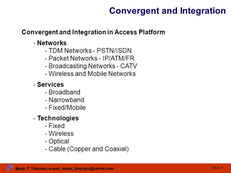 Convergent and Integration