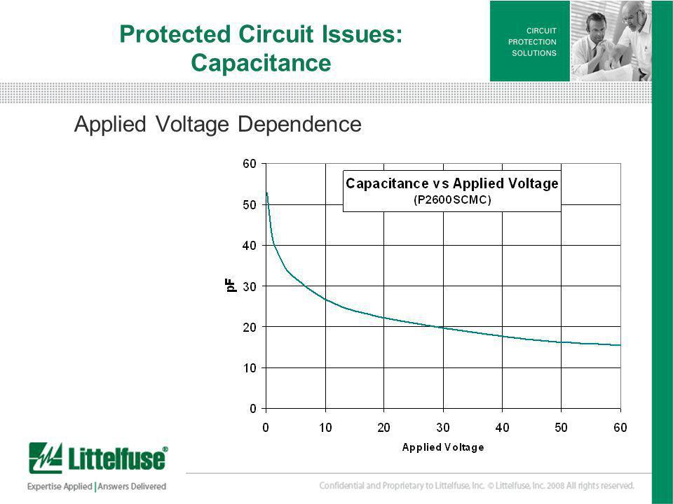 Protected Circuit Issues: Capacitance